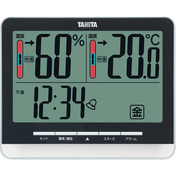 <シャディ> タニタ デジタル温湿度計画像