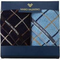 マリオ・ヴァレンティーノ 紳士ミニタオル2枚セット