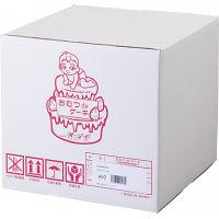 おむつdeケーキ S (1段) ブルー