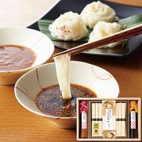 こだわりつけ麺つゆで食べる三輪素麺