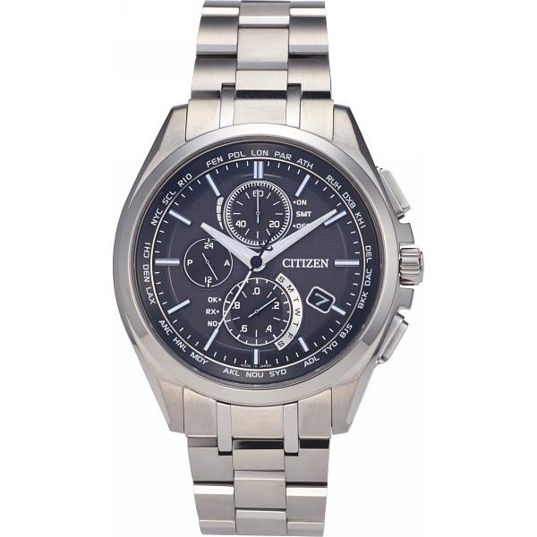 b57e93240d シチズン アテッサ ダイレクトフライト メンズ電波腕時計 ブラックの商品画像
