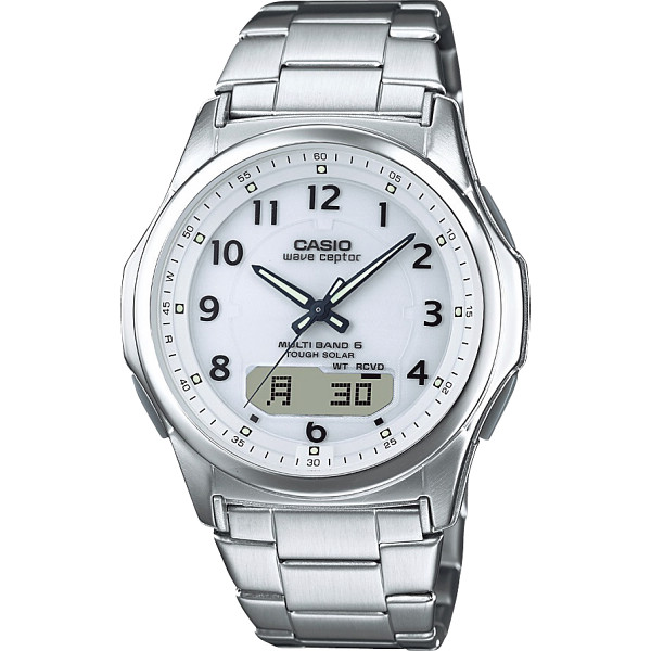 7394ac20ac WEVECEPTOR カシオ ソーラー電波腕時計 (WVA-M630D ...
