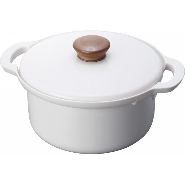 手間いらずでお手入れ簡単 電子レンジ調理鍋