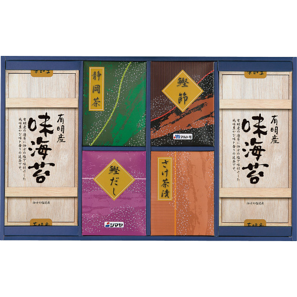 海苔・鰹・お茶漬け・静岡茶詰合せの商品画像