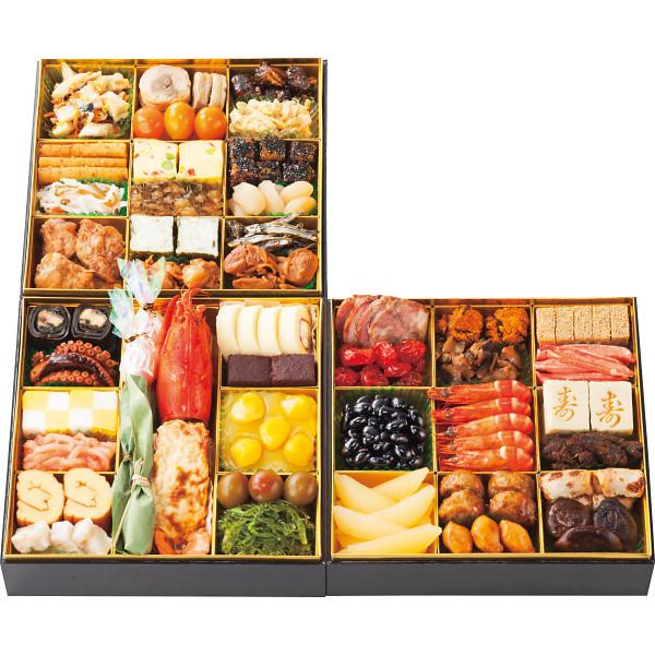博多久松 和洋折衷おせち「博多」三段重の商品画像