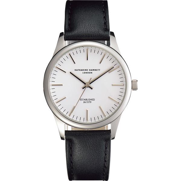 new arrivals c3cb6 a2a6f キャサリン ハムネット アプライドインデックス腕時計, ホワイト