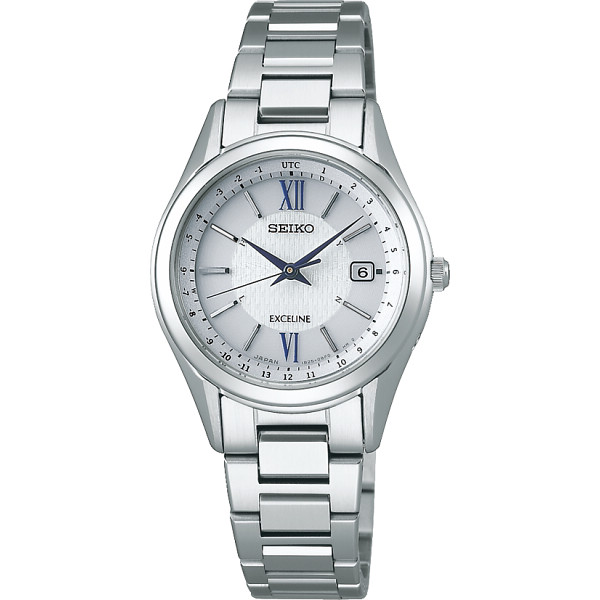 online store 977cb 14023 セイコー エクセリーヌ ソーラー電波レディース腕時計