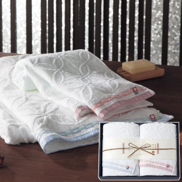 今治綿紗織 バスタオル2枚セットの商品画像