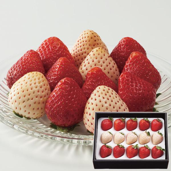 紅白いちご(計200g)