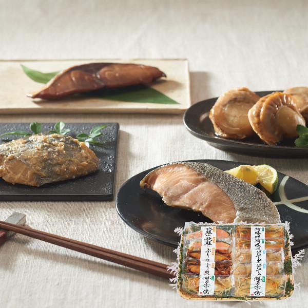 北海道小樽加工 煮魚&焼魚セット