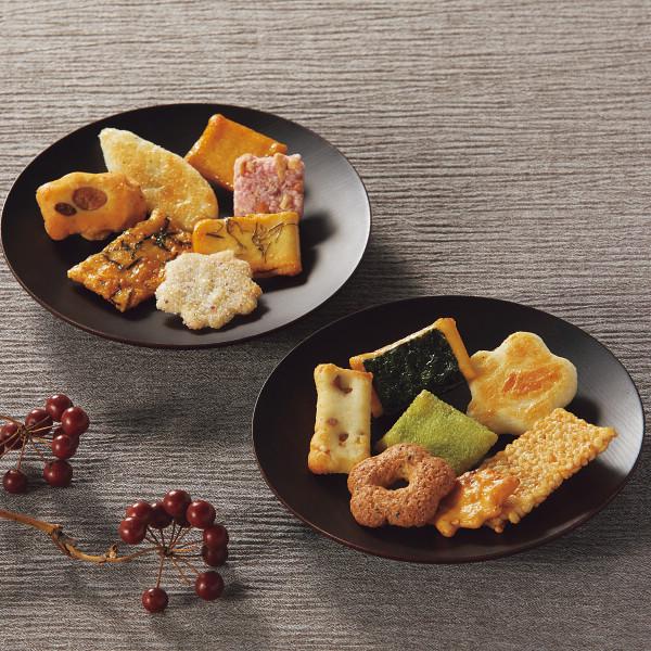 中央軒煎餅 花色しおん(16袋)